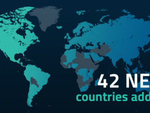 We.Stream expands its international coverage to 145 countries